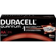 Duracell Battery Quantum Alkaline AA, 24/Pack