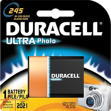 Duracell® Ultra 6 Volt Photo Lithium Battery