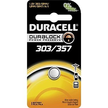 Duracell D303/357 1.5-Volt Silver Oxide Battery