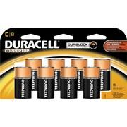 Duracell C Alkaline Batteries, 8/Pack
