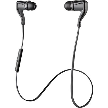 Plantronics Backbeat GO 2 Wireless Earbuds with Mic, Black