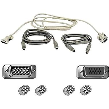 Belkin 6' Pro Series OmniView™ KVM PS/2 Cable Kit