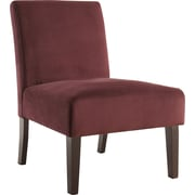 Office Star Ave Six® Fabric Laguna Chair, Port Velvet