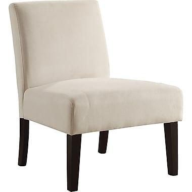 Office Star Ave Six® Fabric Laguna Chair, Oyster Velvet