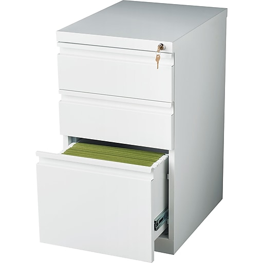 Staples 3 Drawer Vertical File Cabinet Locking Letter White 19 88 Https Www 3p S7 Is