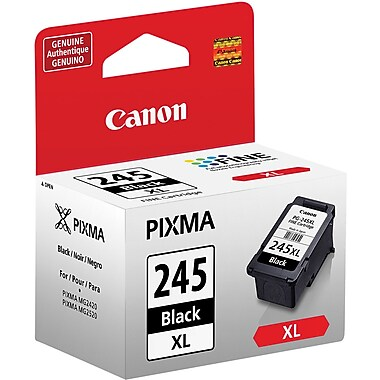 Canon® PG-245XL Black Ink Cartridge, High Yield (8278B001)