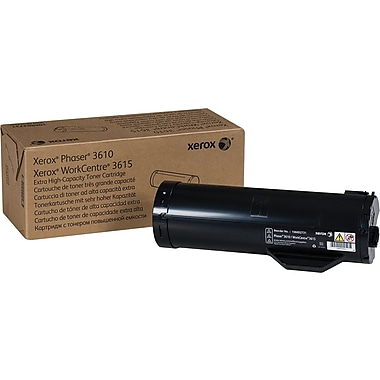 Xerox® Phaser 3610/WorkCentre 3615 Black Toner Cartridge, Extra High Yield (106R02731)