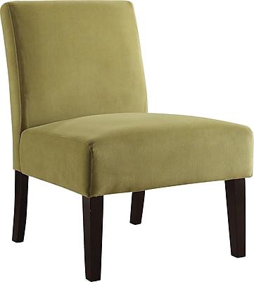 Office Star Ave Six® Fabric Laguna Chair, Basil Velvet