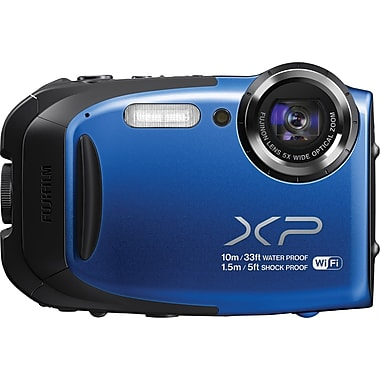 Fujifilm FinePix XP70 Digital Camera, Blue