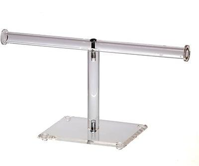 T-Bar Display, Single Clear Acrylic, 10