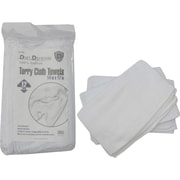 Dirt Defense Terry cloth towel 100% cotton, 12 pack