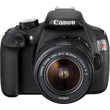 Canon® EOS Rebel T5 Digital SLR, 18.0MP, EF-S 18-55mm f/3.5-5.6 IS Type II Lens, 1080 HD Video, 3.0