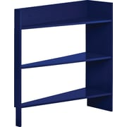 Foremost Heidi Jr. 3-Shelf Behind The Door Wood Shelving Unit, Navy