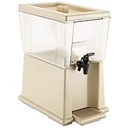 Rubbermaid® Beverage Dispenser, 3 Gal., Clear, Polycarbonate