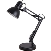 "Tensor 13-Watt CFL Architect Desk Lamp with Clamp Option, Black, 22-1/20""H"