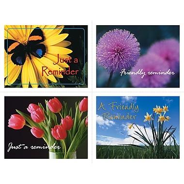 MAP Brand Generic Assorted Laser Postcards Flower Groups