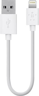 Belkin Mixit Lightning to USB 6 in ChargeSync Cable, White