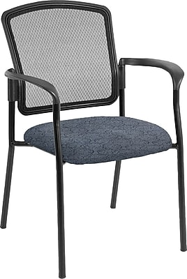 Raynor Eurotech Dakota 2 Steel Guest Chair, Ring Sapphire (7011 RING-SAP)