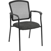 Raynor Eurotech Dakota 2 Steel Guest Chair, Basis Fog (7011 BAS-FOG)