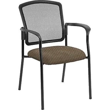 Raynor Eurotech Dakota 2 Steel Guest Chair, Cirque Mocha (7011 CIRQ-MOCH)