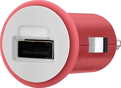 Belkin Mixit Car Chargers for iPad (10 Watt/2.1 Amp), Red