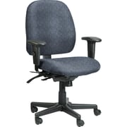 Raynor Eurotech Fabric Computer and Desk Office Chair, Ring Sapphire, Adjustable Arm (49802A RING-SAP)