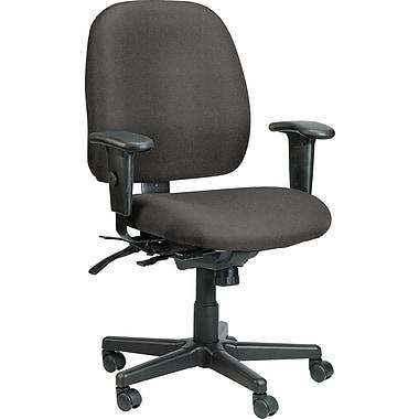 Raynor Eurotech Fabric 4 x 4 Multi-function Task Chair, Basis Fog