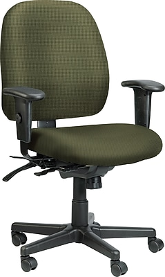 Raynor Eurotech Fabric Computer and Desk Office Chair, Expo Leaf, Adjustable Arm (49802AEXPOLEAF)