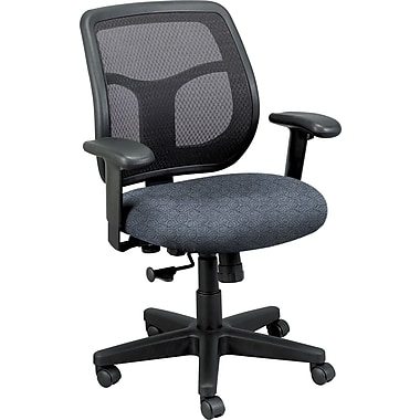 Raynor Eurotech Fabric Computer and Desk Office Chair, Ring Sapphire, Adjustable Arm (MT9400RING-SAP)