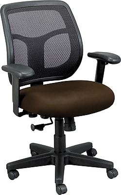 Raynor Eurotech Vinyl Computer and Desk Office Chair, Canyon Mudslide, Adjustable Arm (MT9400CANY-MUD)