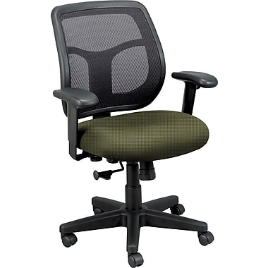 Raynor Eurotech Fabric Computer and Desk Office Chair, Expo Leaf, Adjustable Arm (MT9400EXPO-LEAF)