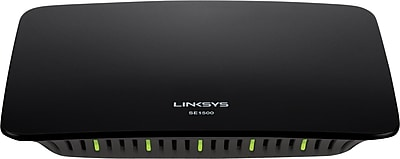 Linksys SE1500 5-Port Fast Ethernet Switch