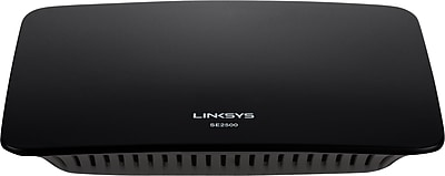 Linksys 5-Port Gigabit Ethernet Switch - SE2500-NP