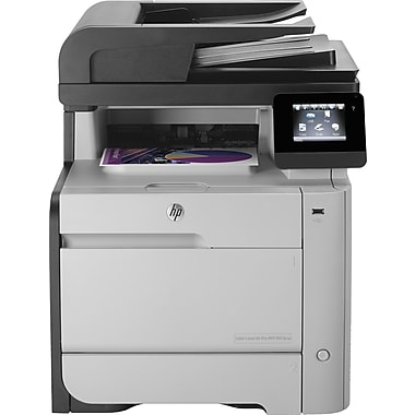 Hp m476nw laserjet pro all in one printer staples for Staples color printing cost per page