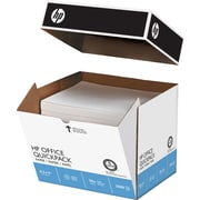 "HP® FSC-Certified Office Quickpack Paper, 20 lb., 8-1/2"" x 11"", 2500/Case"