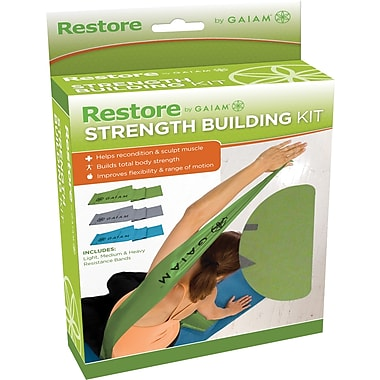 Gaiam® – Trousse Restore by Gaiam Strength & Flexibility