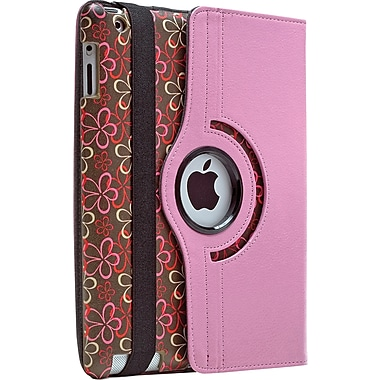 Aduro Rotating Stand Case for iPad Mini, Flower
