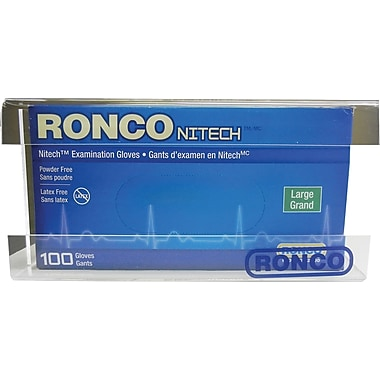 Ronco - Distributeur de gants, copolyester, incolore