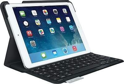 Logitech Ultrathin Keyboard Folio for iPad Air, Carbon Black (920-006909)