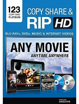 123 Copy DVD Platinum 2014 for Windows (1-3 Users) [Download]