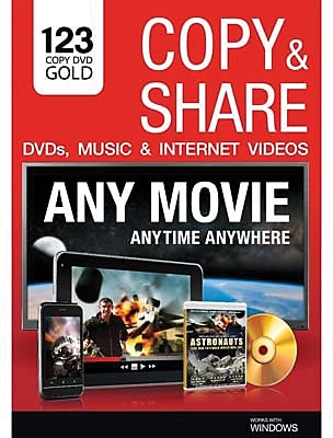 123 Copy DVD Gold 2014 for Windows (1-3 Users) [Download]