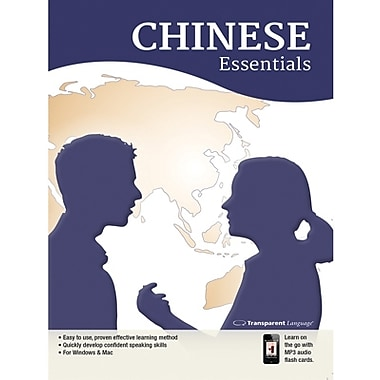 Transparent Language Chinese Essentials for Windows (1 User) [Download]