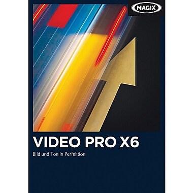 MAGIX – Video Pro X6 pour Windows (1 utilisateur) [Téléchargement]