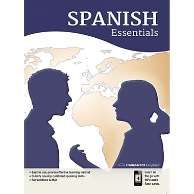 Transparent Language – Spanish Essentials pour Windows (1 utilisateur) [Téléchargement]