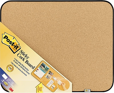 Post-it® Sticky Cork Board, 18