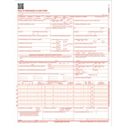 "TOPS CMS-1500 Laser Printer Claim Forms 1 Part - 8.50"" x 11"" Form Size - 500 / Pack"