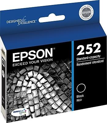 Epson DURABrite Ultra 252 Black Ink Cartridge (T252120-S)