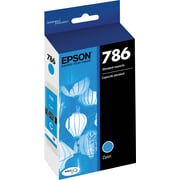 Epson DURABrite Ultra 786 Cyan Ink Cartridge (T786220-S)