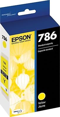 Epson DURABrite Ultra 786 Yellow Ink Cartridge (T786420-S)