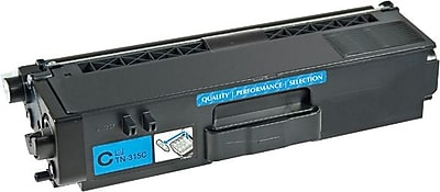 Staples® Remanufactured Cyan Toner Cartridge, Brother TN-310C (SEBTN310CRDS)